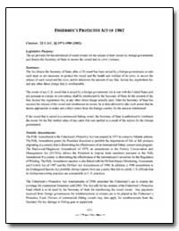 Fishermen's Protective Act of 1967 by