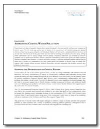 Chapter 14 : Addressing Coastal Water Po... by