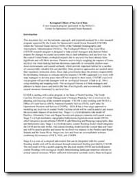 Ecological Effects of Sea Level Rise by Rader, Douglas N.
