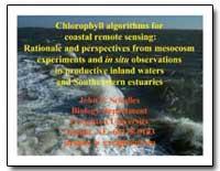 Chlorophyll Algorithms for Coastal Remot... by Schalles, John F.