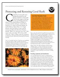Protecting and Restoring Coral Reefs by Kennedy, David M.