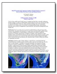Rapid Ecosystem and Coastscape Evolution... by Wanless, Harold R., Dr.