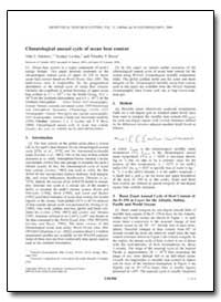 Climatological Annual Cycle of Ocean Hea... by Antonov, John I.