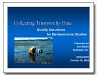 Collecting Trustworthy Data by Bailey, Ann