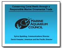 Marine Aquarium Council by