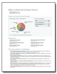Office of National Geodetic Survey by Challstrom, Charles W.