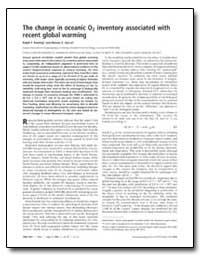 The Change in Oceanic O2 Inventory Assoc... by Keeling, Ralph F.