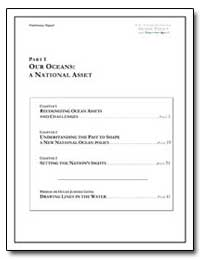 Part I Our Oceans : A National Asset by