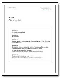 Part X Appendices by