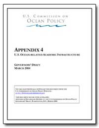 Appendix 4 U. S. Ocean-Related Academic ... by