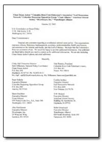 Comments to the U. S. Ocean Commission R... by Beasley, Dale