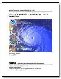 Effects of Hurricane Floyd on Water Leve... by Zervas, Chris
