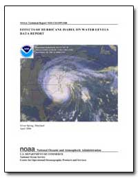 Noaa Technical Report Nos Co-Ops 040 Eff... by Szabados, Michael