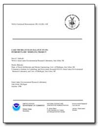 Lake Michigan Mass Balance Study : Hydro... by Schwab, David J.