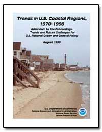 Trends in U.S. Coastal Regions, 1970-199... by Bookman, Charles A.