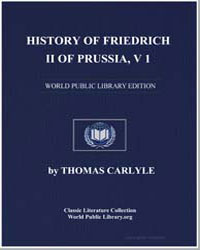 History of Friedrich II of Prussia, Vol.... by Carlyle, Thomas