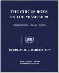 The Circus Boys on the Mississippi or Af... by Darlington, Edgar B. P.