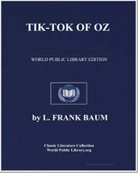 Tik-Tok of Oz by Baum, Lyman Frank