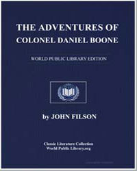 The Adventures of Col. Daniel Boon; Cont... by Filson, John