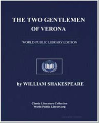 The Two Gentlemen of Verona by Shakespeare, William