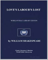 Love's Labour's Lost by Shakespeare, William