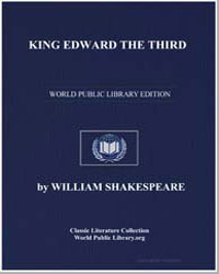 King Edward Iii by Shakespeare, William