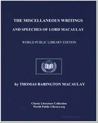 The Miscellaneous Writings and Speeches ... by