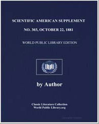 Scientific American Supplement, No. 303 ... by Various