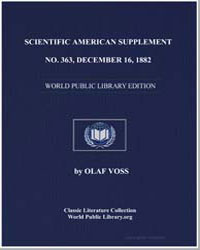 Scientific American Supplement, No. 363,... by Various