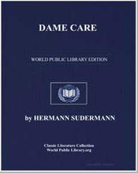 Dame Care by Sudermann, Hermann