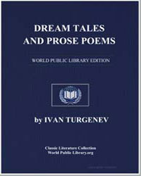 Dream Tales and Prose Poems by Turgenev, Ivan S.