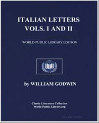 Italian Letters, Vols. I and Ii by Godwin, William
