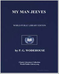 My Man Jeeves by Wodehouse, Pelham Grenville