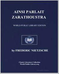 Also Sprach Zarathustra by Nietzsche, Friedrich Wilhelm
