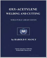 Oxy-Acetylene Welding and Cutting by Manly, Harold Phillips