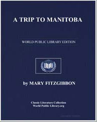 A Trip to Manitoba by Fitzgibbon, Mary