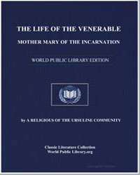 The Life of the Venerable Mother Mary of... by