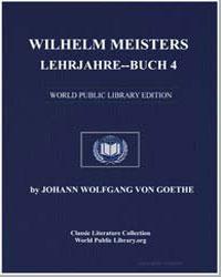 Wilhelm Meisters Lehrjahre-Buch 4 by Goethe, Johann Wolfgang Von