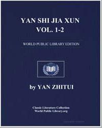 Yan Shi Jia Xun Volumes 1-2 by Zhitui, Yan