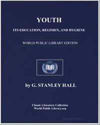 Youth : Its Education, Regimen, And Hygi... by Hall, G. Stanley