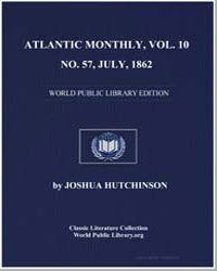 Atlantic Monthly, Vol. 10, No. 57, July,... by Various