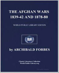 The Afghan Wars, 1839-42 and 1878-80 by Forbes, Archibald