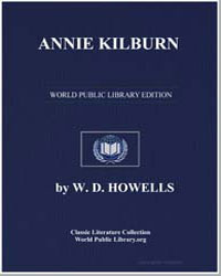 Annie Kilburn a Novel by Howells, W. D.