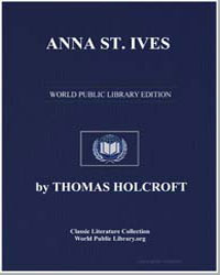 Anna St. Ives by Holcroft, Thomas