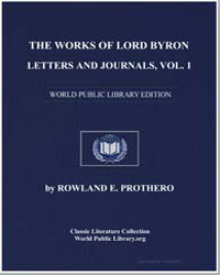The Works of Lord Byron, Letters and Jou... by Byron, Lord