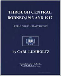 Through Central Borneo : An Account of T... by Lumholtz, Carl