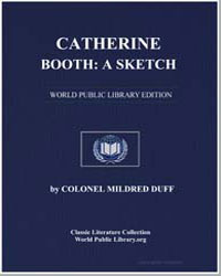 Catherine Booth a Sketch by Duff, Mildred