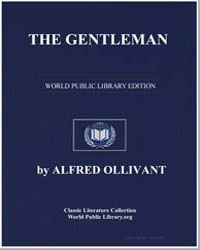The Gentleman a Romance of the Sea by Ollivant, Alfred