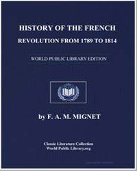 History of the French Revolution from 17... by Mignet, François Auguste Marie Alexis