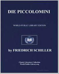 Die Piccolomini by Schiller, Friedrich